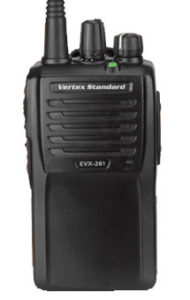 Aidrow Installations has the new Vertex EVX-261 2-Way Radio!